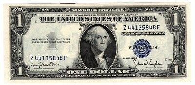 1935 One $1 Dollar Silver Certificate Note UNC US Currency
