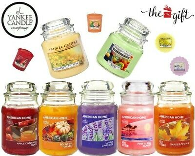 Yankee Candle® & Other Brands L,M & S Jar Candles Tealight Car Jar Wax Melts