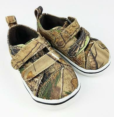 7004fcf2b5be6 Boy's Toddler Realtree Camo Camouflage Shoes 2 Mossy Oak Sneakers Canvas