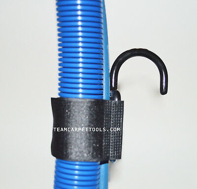 Carpet Cleaning Soluton Line & Vacuum Hoses Adjustable Strap & Hook Stair Hook