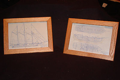 Lake Michigan Schooner  Blueprints (2)