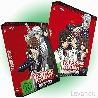 DVD VAMPIRE KNIGHT + GUILTY - Gesamtausgabe (Anime-Serie Staffel 1+2) - 8 DVD's