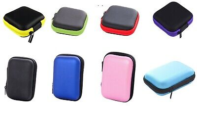 Portable Earbud Hard Carrying Case Earphone Holder Waterproof Storage Bag Holder