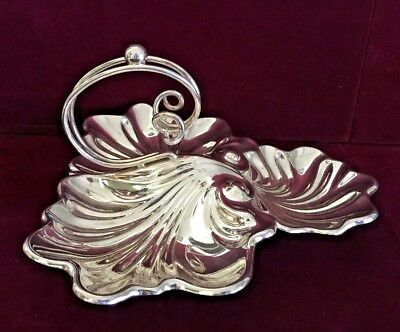 Beautiful Antique Charles Truman Burrows & Son Silver Plated Candy Dish