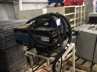 Nordson glue machine, E-3500-1OK34/D, series 3500, with hoses, on stand,