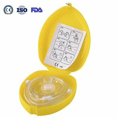 Aurelius Pocket CPR Mask For First Aid Resuscitation Face Shield Mask With ...
