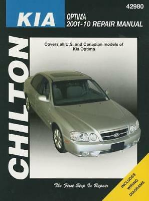 2001 kia sephia spectra owners manual by kia 1168 picclick chiltons kia optima 2001 10 repair manual by stubblefield fandeluxe Images