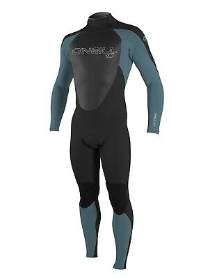 O'Neill Epic 4/3mm Wetsuit - Black & Blue (2018) - Mens Back Zip