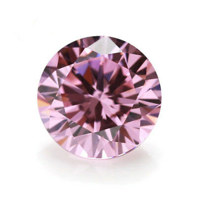 Beautiful Pink Sapphire 1.45Ct 6MM Round Cut AAAAA Loose Gemstone