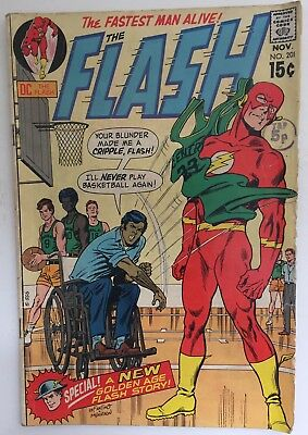 The Flash #201. (1970). Vg