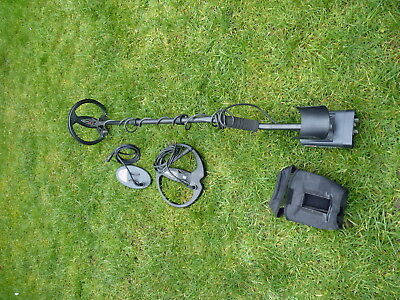 XP Adventis 2 metal detector with 3 coils