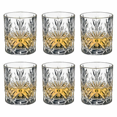 NEW RCR Crystal Melodia Old Fashioned Tumbler Set 6pce 230ml