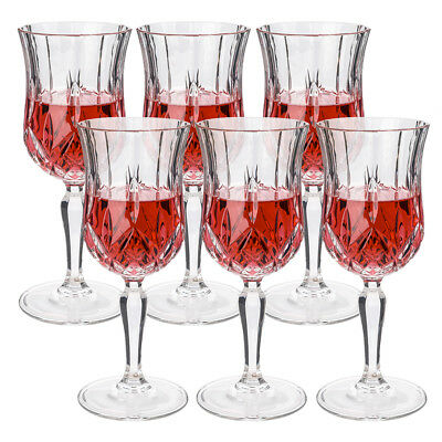 NEW RCR Crystal Opera Red Wine Goblet Set 6pce 230ml