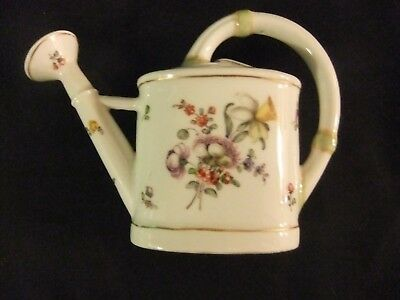 Meissen Augustus Rex Working Watering Can Hand Painted Vase in Excell Condition
