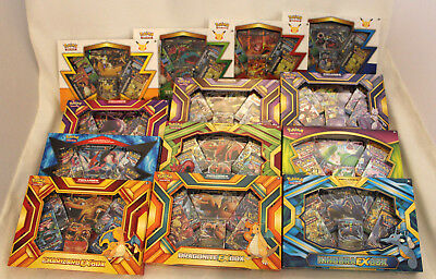Pokemon TCG Karte GX EX Boxen Premium Pin Kollektion deutsch englisch Collection