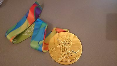 Goldmedaille Gold Olympia Olympische Spiele Medaille Rio Brasilien 2016