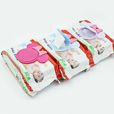 Baby Wipes Lid Baby Wet Wipes Cover Portable Child Wet Tissues Lid Cartoon Mobil