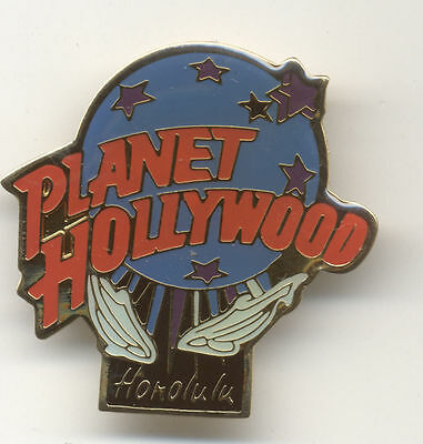 Planet Hollywood Honolulu Whales Pin