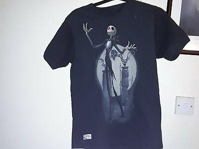 Nightmare Before Christmas Jack T Shirt Size L