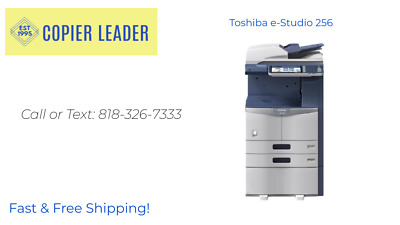 Toshiba e-Studio 256 Print-Scan-Fax (Low Meter!) Finisher Included