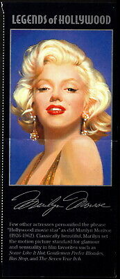 US - 1995 - Marilyn Monroe Legends of Hollywood Issue Mint NH Label #2967 Var NH