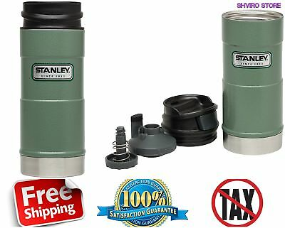 Coffee Thermos Vacuum Mug Bottle Classic Stainless Steel Hammerton Insulated