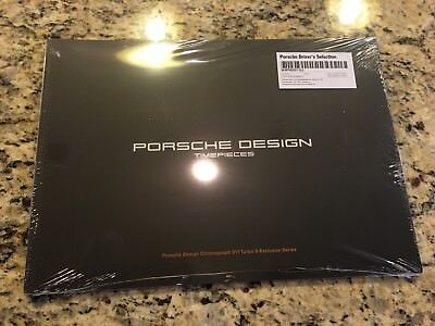PORSCHE DESIGN TIMEPIECES 2017 AUTHENTIC 911 Turbo S Exclusive Series Sales Book