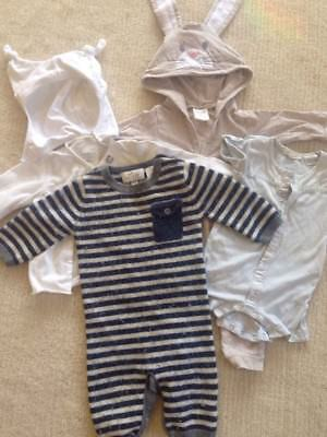 Quality Boy Bundle 0 - 6 months Bebe, Seed, Pure Baby