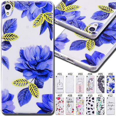 For Sony Xperia XA Gel TPU Rubber Soft Skin Back Silicone Protective Case Cover