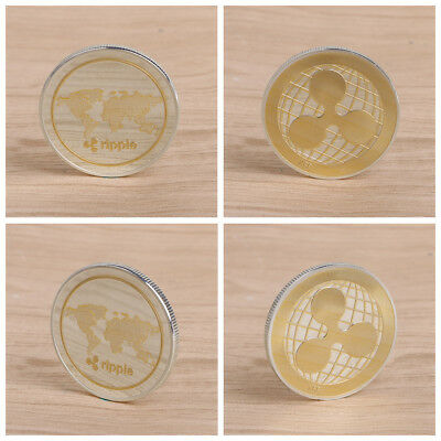 Ripple XRP Commemorative Coin Alloy Collection Gift Souvenir Crafts Arts HOT