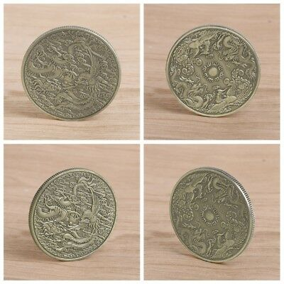 Dragon Phoenix Collectible Commemorative Coin Collection Gift Souvenir Craft Art