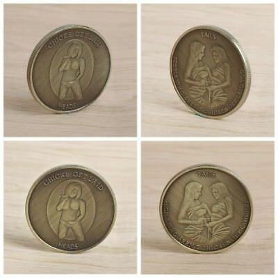 Commemorative Coin Lady Women Bundling Home Collection Gift Souvenir Crafts Art