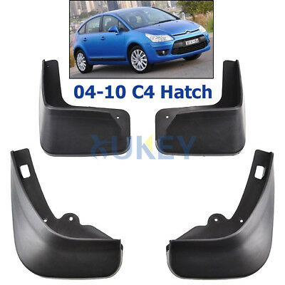 For 2004~2010 Citroen C4 Hatchback MK1  Mud Flap Flaps Splash Guards Mudguards