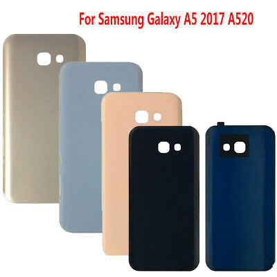 For Samsung Galaxy A5 2017 A520 Glass Battery Cover Back Door Rear Housing NEW