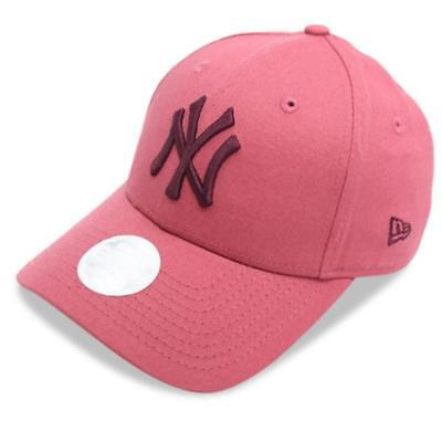 LadiesNew York Yankees New Era MLB Team 9Forty NY Hat Baseball Cap In Salmon