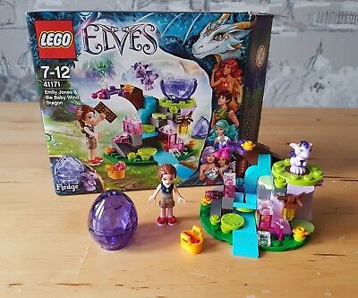 LEGO ELVES Emily Jones & the Baby Wind Dragon 41171 - £10.00 ...