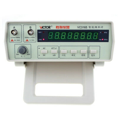 VC3165 Radio Frequency Counter RF Meter 0.01Hz~2.4GHz Victor Professional Tester