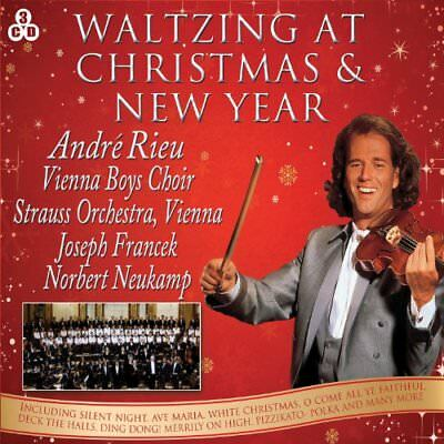 Andre Rieu - Waltzing At Christmas and New Year [CD] Sent Sameday*