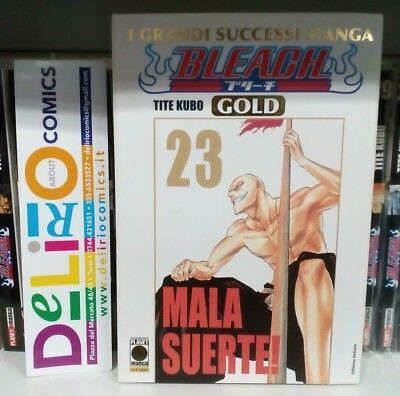 BLEACH GOLD DELUXE N.23 Ed. PLANET MANGA SCONTO 10%