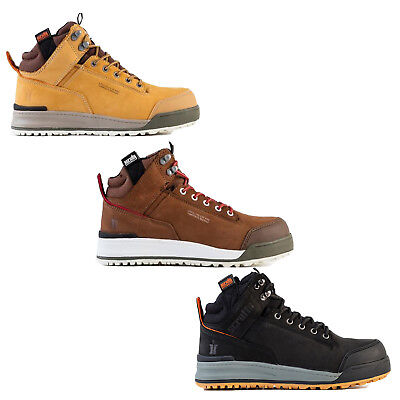 Scruffs SWITCHBACK Safety Work Boots Tan/Brown/Black Men's Steel Toe Cap Leather