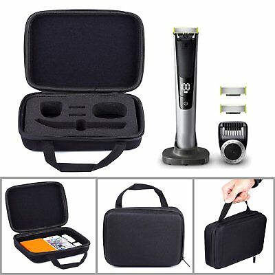 Waterproof Travel Case Cover Bag for Philips Norelco OneBlade Pro Trimmer Shaver