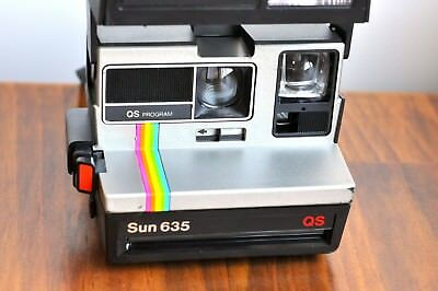 POLAROID Sun 635 QS LAND Instant Film     ** Good User/Read **  - Tested/Working