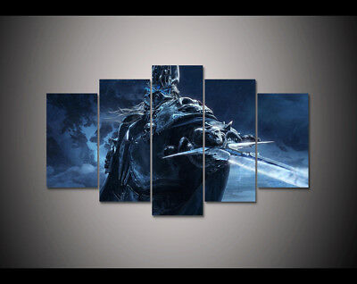 GAME WORLD OF Warcraft Home Wall Decor Picture Canvas Art HD Print ...