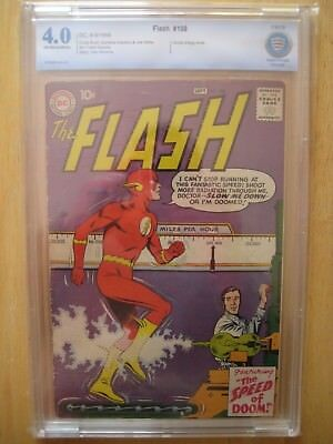 DC Comics FLASH 108 cbcs/ cgc 4.0 1959 silver age