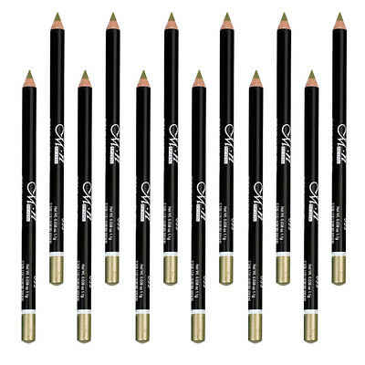 Paquet de 12 Cosmétique Maquillage Eyeliner Eye / Lip Liner Crayon Set