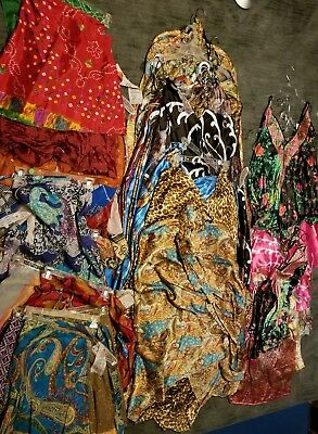 lot of new Kariza wrap skirts, long dresses and tops NWT