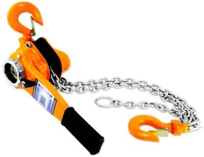 Hand 1 1/2 Ton Ratchet Ratcheting Lever Chain Hoist Lift