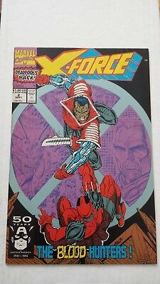 X-Force, #Volume 1, Issue 2 NM (September 1991) 2nd Appearance of Deadpool