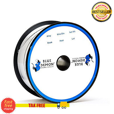 Stainless Steel Flux Core Cored Mig Welding Wire .030 Blue Demon 2Lb Spool New