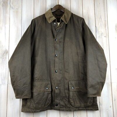 Barbour Beaufort Weather Worked Men's Brown A2200 Jacket Coat L / XL